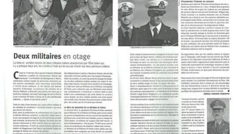 Caso Marò: risalto sui giornali francesi