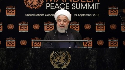 Iran's Rouhani a 'No' After US Says Trump Open to Talks at UN